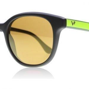 Vogue 2730S 2730 W44/6H Musta-keltainen Aurinkolasit