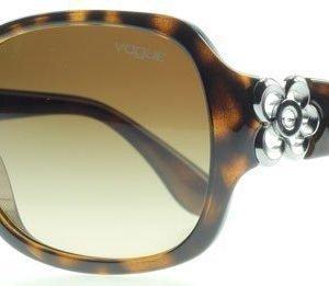 Vogue 2778SB 2778sb w65613 Tumma Havana Aurinkolasit