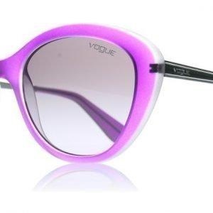 Vogue 2870s 2870S 21908H Violetti Läpikuultava Puolikiiltävä Aurinkolasit