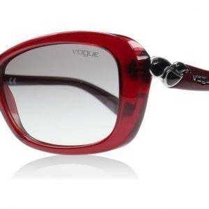 Vogue 2917S 2917 226411 Opaali Viininpunainen Aurinkolasit