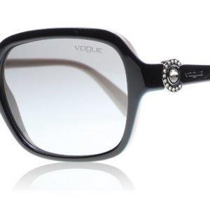 Vogue 2994SB 235011 Musta-kerma Aurinkolasit
