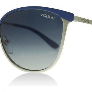 Vogue 4002S 50254L Sininen-hopea Aurinkolasit