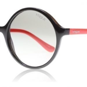Vogue 5036S W44/11 Musta-punainen Aurinkolasit