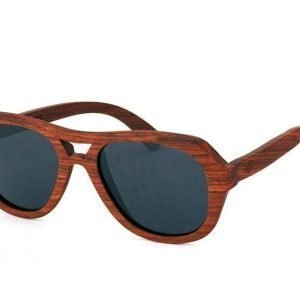 Wood Fellas Amed 10501 mahagony aurinkolasit