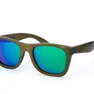Wood Fellas Jalo Mirror 10499 brown-green Aurinkolasit