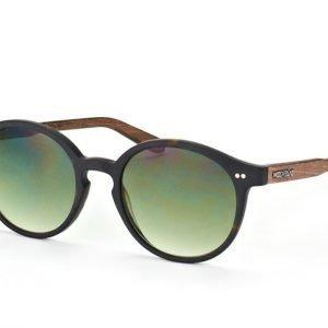 Wood Fellas Solln 10763 havanna/green Aurinkolasit