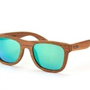 Wood Fellas Stachus 10705 walnut green 327 Aurinkolasit