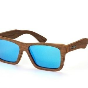 Wood Fellas Viktualien 10707 walnut blue Aurinkolasit