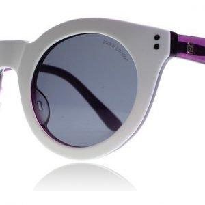 Zoobug 4-9 Years 870 Valkoinen-violetti Aurinkolasit